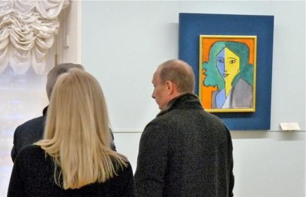 Putin lämnar oss och Matisse
